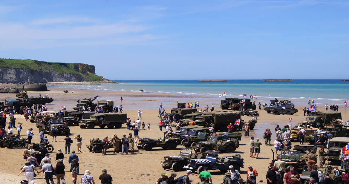 airb Arromanches Beach 1168x616