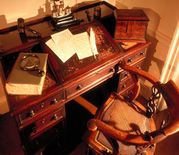 Dickens-desk-and-chair-in-