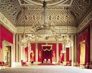 The Throne Room, Buckingham Palace