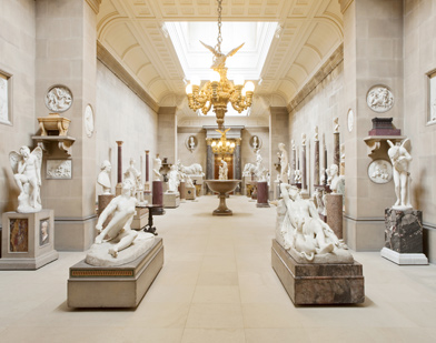 Sculpture Gallery, Chatsworth House