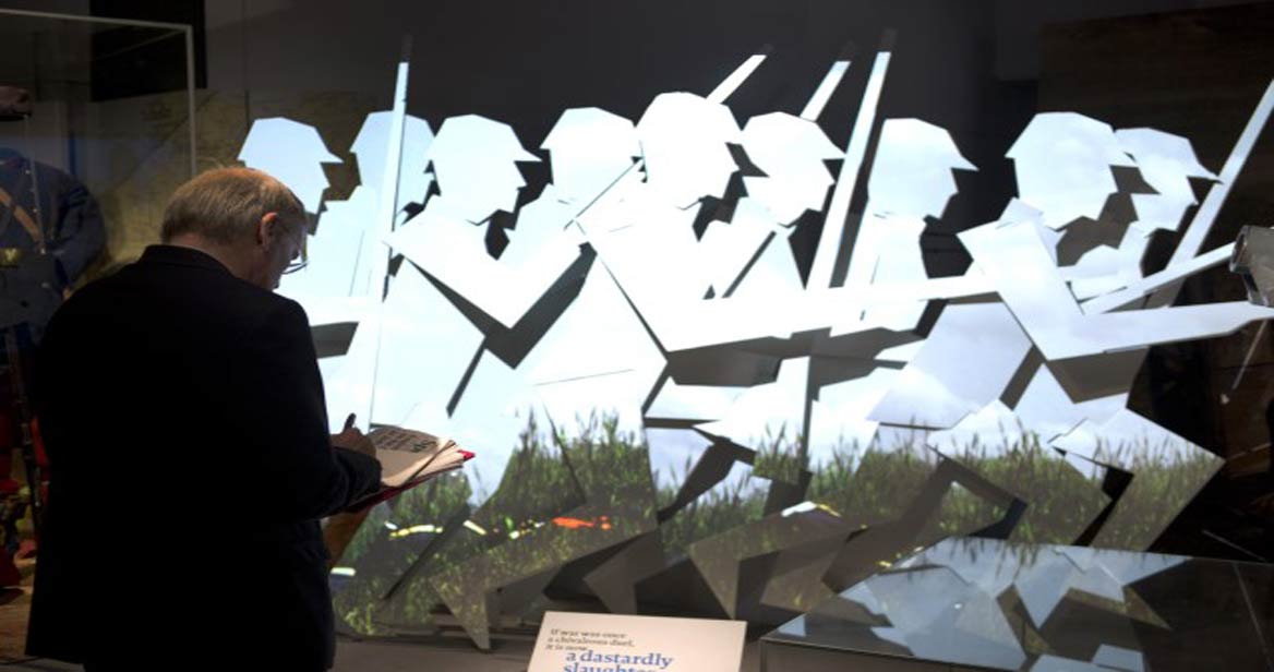 First World War Galleries at Imperial War Museum