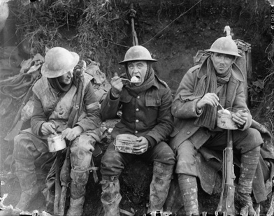 Soldiers during WW1
